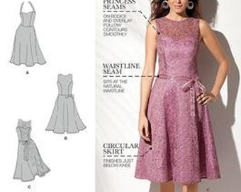 Simplicity 1606 Fit & Flare Dress Pattern