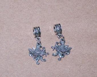Silver GRIFFIN Bead Charm for All Name Brand Add a Bead Bracelets - Celtic, Irish, Scottish, Mythology