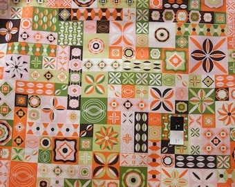 Jenean Morrison PWJM054 Power Pop Clique Strawberry Cotton Fabric 1 Yard