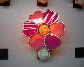 Night Light - Flower Nightlight - Pick Your Own Colors Flower Nightlight - Petaled Flower Nightlight