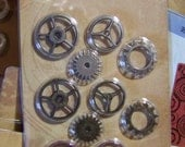 Tim Holtz Idea-ology Metal Sprocket Gears