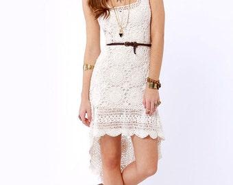 MADE TO ORDER  summer crochet dress  RI89 - Replica