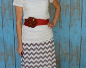 Instant Download Greenstyle Amy Chevron Skirt EASY Sewing Pattern for Women's Sizes XS to XL with Yoga Waistband