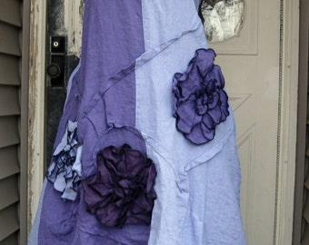 Wavy Flower Dress