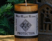 PROTECTION Spell Candle 2x3 Pillar