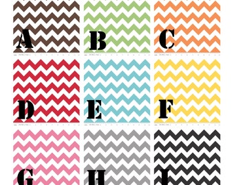 Burp Cloths - Chevron Burpie Trio-Choose Your Colors
