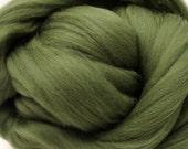 4 oz. Merino Wool Top - Pickle - Ships Free