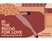 Movie poster In the Mood for Love 18x12 inches retro print