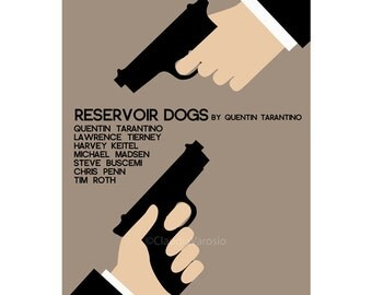 Movie poster Reservoir Dogs print in various sizes