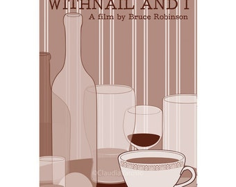 Withnail and I 12x18 inches movie poster