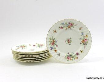 Minton Salad Plate Set, Marlow Vintage English Fine China