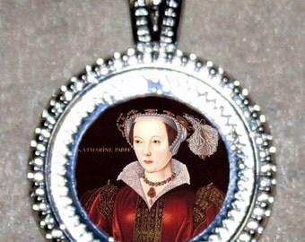 Tudor Queen CATHERINE PARR Pendant
