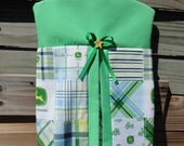 John Deere Diaper Stacker Green or Blue or Pink or Yellow Free Shipping