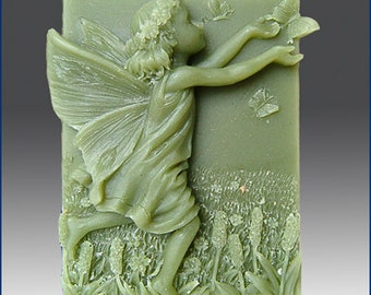 2D Silicone Soap Mold - Adelaide- Fairy of the Meadows - buy from the original maker and designer