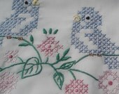 Sew Pretty Pillowcases - Bluebird Buddies - Straight Lace - Set of 2