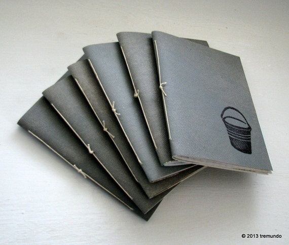 bucket list pamphlet journal set of six