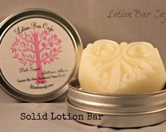 Solid Lotion Bar -Pink Sugar
