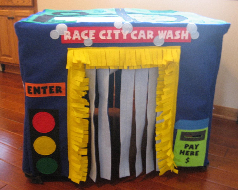 Car Wash Card Table Playhouse Custom Order By Theplayhousekid