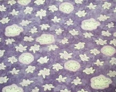 The Great Outdoorz Purple Fabric-- TWO yards