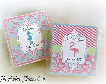 Baby Shower Favors, Wedding Shower Favors, Beach Wedding Favors, Lilly Pulitzer, Wedding Favors, Party Favors