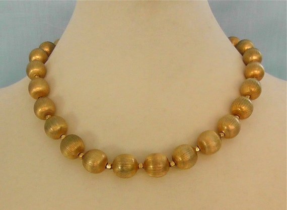 Vintage Gold Trifari Necklace