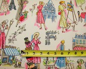 Springtime in Paris Ladies Shop Michael Miller Cotton Fabric