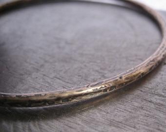 Bronze Bangle Bracelet