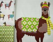 Pillow Panel and FQ SET - Spring Oh La Llama
