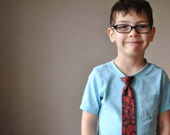1960s Snapper Paisley Tie for kids