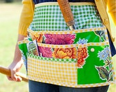 Combo Pack -- Oilcloth for Garden Apron and a Copy of Sewing with Oilcloth