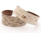 Birch bark cuff bracelet, The Small