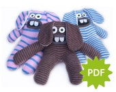 Make your own Sock Bunny - PDF instructions