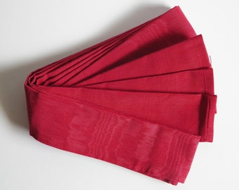 Cord Cover (Red Moire)