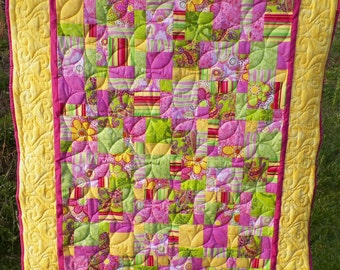 Contemporary Baby Quilt