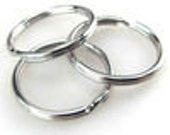 100 Split Rings - gclasergraphics