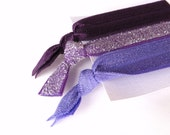 SUMMER SALE Purple Hair Ties