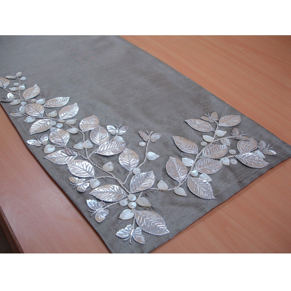 Dining table mats ideas - Flower Place Mats Etsy
