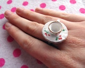 Alice in Wonderland Adjustable Tea Party Ring