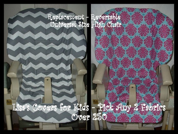 Baby Universal Fit High Chair Cover By Lisascoversforkids