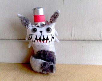 Handmade Plush Wolffey  the wolf