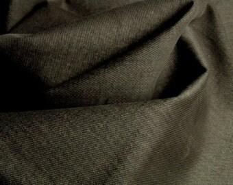 12 oz SOFT Preshrunk Cotton DenimTwill Fabric Upholstery Slipcovers OLIVE