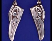 KINGFISHER- Earrings- Sterling Silver