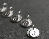 Add on initial for Mother's pendant   sterling silver one initial