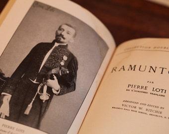 Ramuntcho by Pierre Loti, Vintage book, Acceptable condition