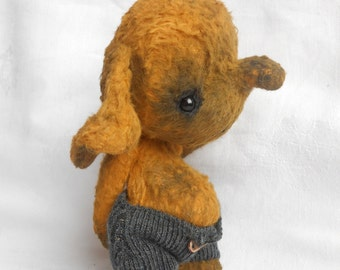 Artist bear elephant made to order by Sylvie Touzard