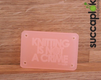 Nappi - Button with an attitude :), A button to tune up your knitting gear