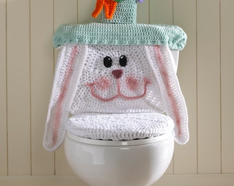 Easter Bunny Toilet Cover Pattern PDF