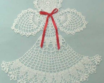 Angel Abriel Doily Crochet Pattern PDF