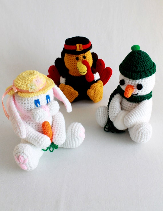 Holiday Coin Banks Crochet Pattern-PB017