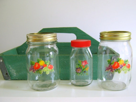 vintage kitchen storage jars vintage pantry storage jars retro kitchen kerr jars with 6833